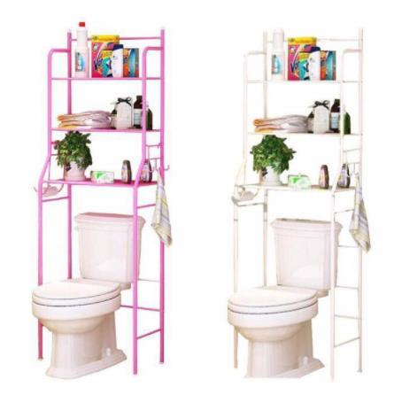 Bathroom Toilet Bowl Rack Rak Bilik Air