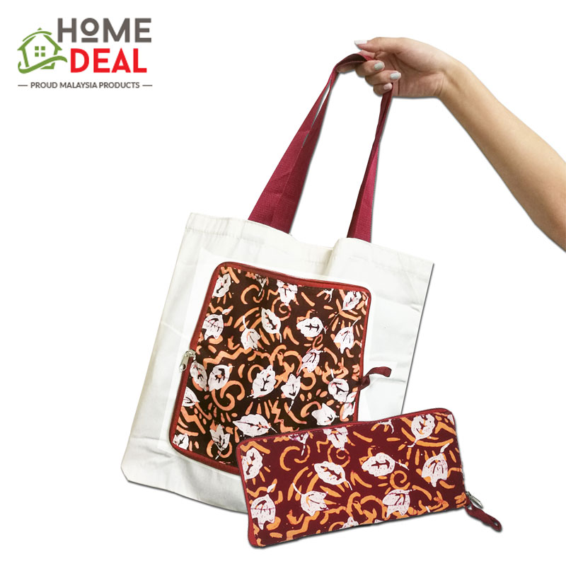 cd97d382ab Batik Folding Tote Bag (end 10 2 2020 5 21 PM)