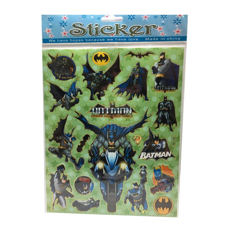 BatMan Stickers X 10 pieces