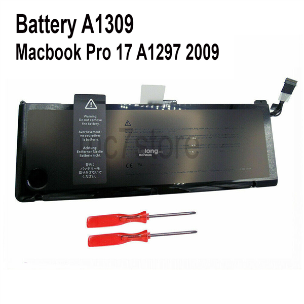 Battery A1309 for Macbook Pro 17 A1297 2009