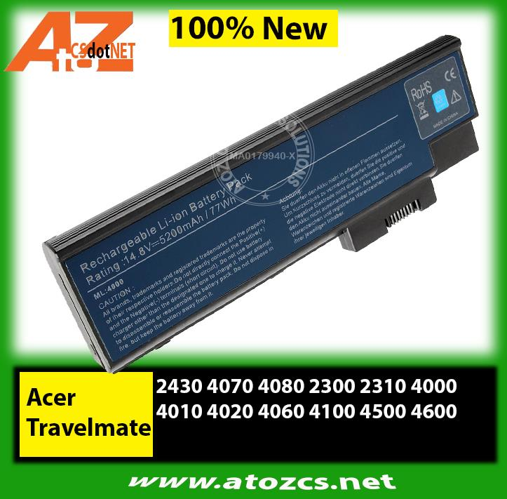 Battery Acer Travelmate 2430 4070 4080 2300 2310 4000 4010 4020 4060