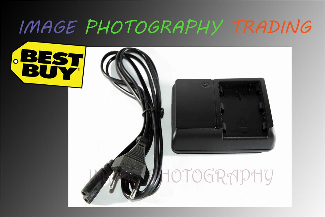 Battery Charger for Canon CB-5L, BP-511A/512 EOS 50D 40D 30D 20D 10D