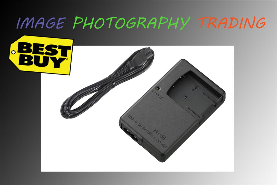 Battery Charger for Nikon MH-66 EN-EL19 S6400 S4300 S4200 S4100 S3500