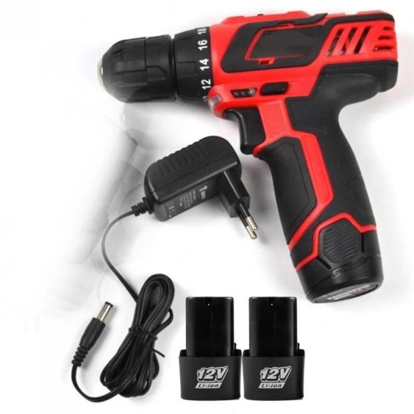 Battery Cordless drill 12V lithium Battery X 2 Battery