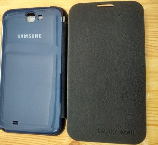 Battery Flip Case Cover For Samsung Galaxy Note 2 N7100