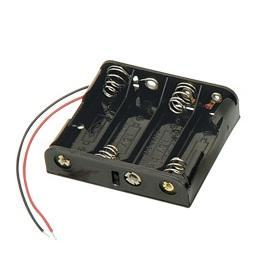 Battery Holder for 4 X AA Battery