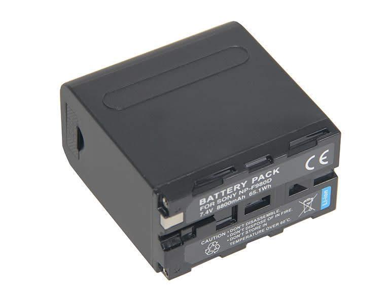 Battery NP-F980D L Series Lithium Ion BatteryPack 8800