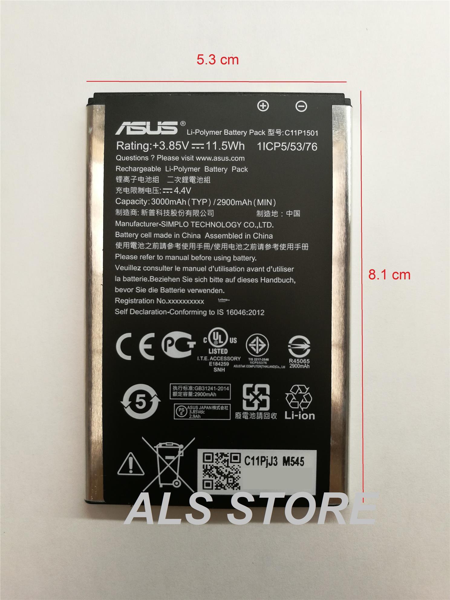 Battery Original Asus Zenfone Selfie ZD551KL C11P1501