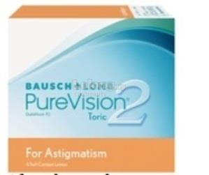 Bausch & Lomb PureVision2 Toric for Astigmatism Monthly 6pcs