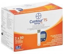 Bayer Contour TS Blood Glucose 25+25 strips
