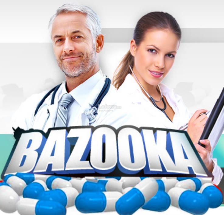 BAZOOKA PILLS POWERFUL - 60 Capsules Enlargement (Made In New Zealand)