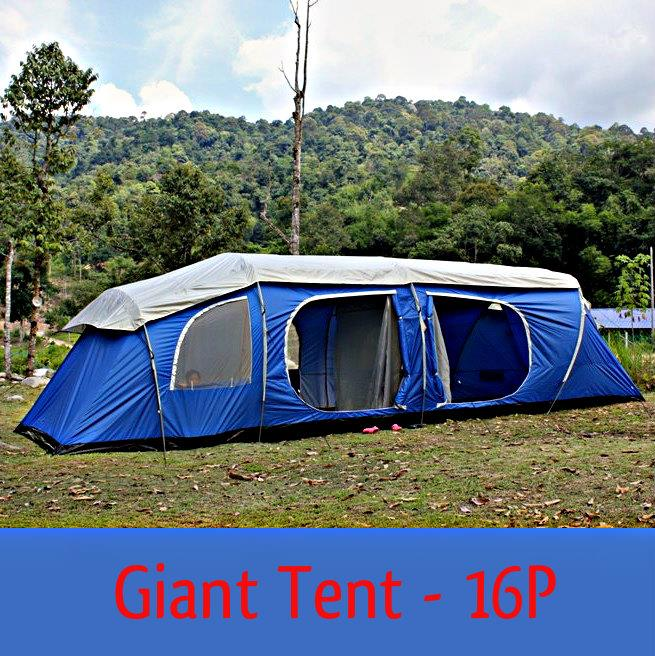 BAZOONGI 16 PERSON GIANT TENT & BAZOONGI 16 PERSON GIANT TENT (end 12/4/2017 9:16 PM)