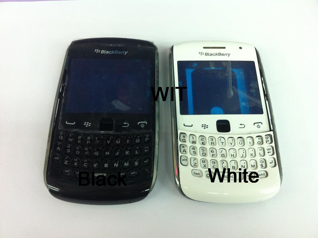 BB BlackBerry Curve 4 9360 Housing Keypad Middle Board White / Black