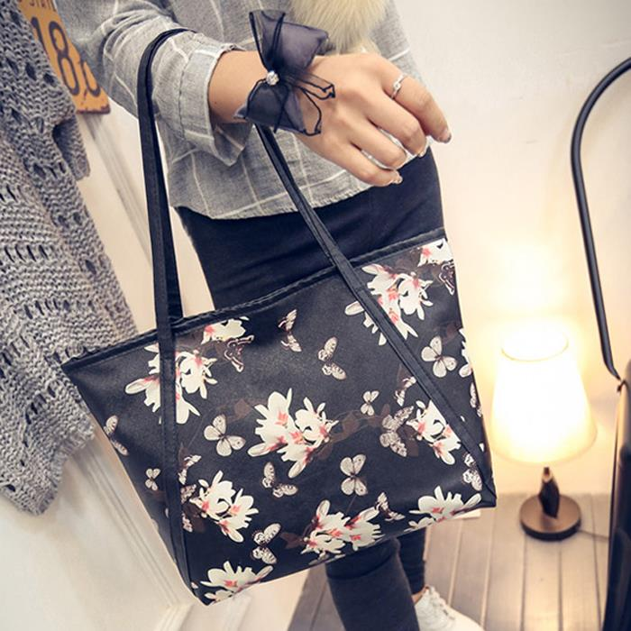BBD Flower Printed Fashion Handbag BG211