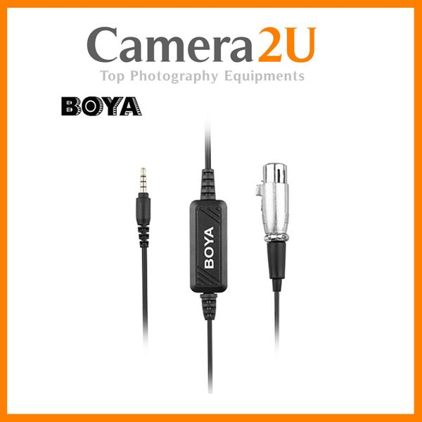 BY-BCA6 XLR to 3.5mm PLUG MICROPHONE CABLE
