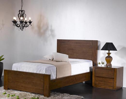 BD2817 BC Wooden Super Single Bed
