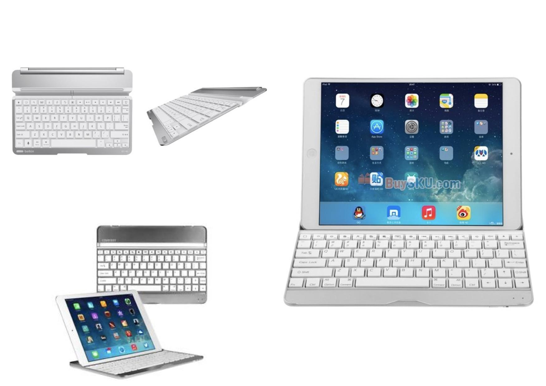 Bdotcom = Apple iPad Mini 3 Aluminium Wireless Bluetooth Keyboard