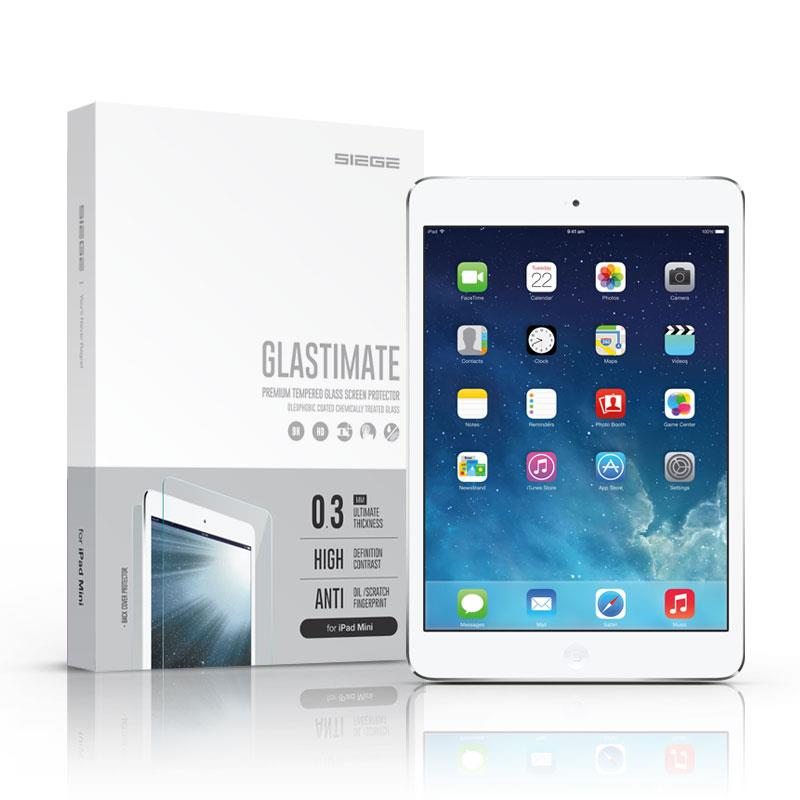 Bdotcom = Apple iPad Mini 3 Siege Glastimate Premium Tempered Glass