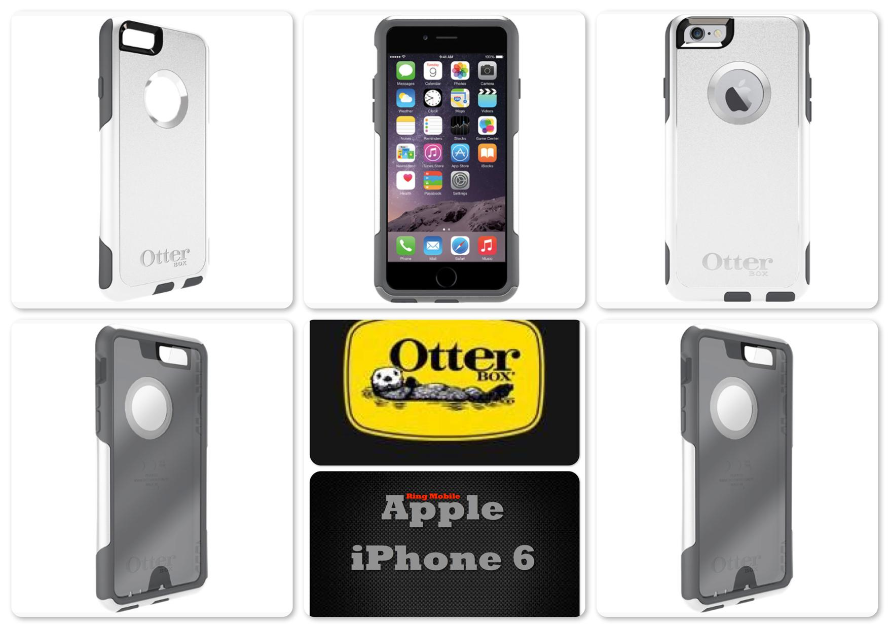 Bdotcom = Apple iPhone 6s 4.7' Otterbox Commuter Series Glacier