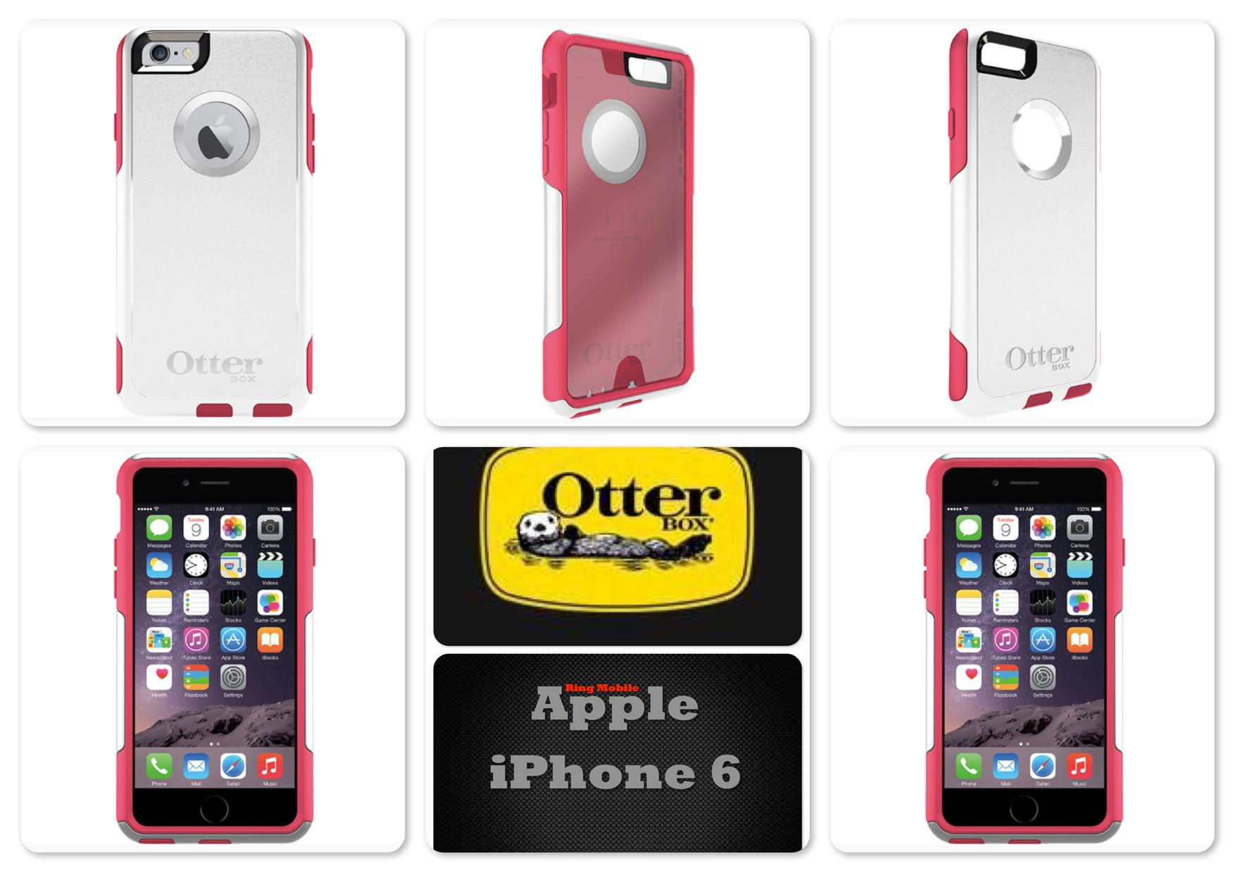 Bdotcom = Apple iPhone 6s 4.7' Otterbox Commuter Series Neon Rose
