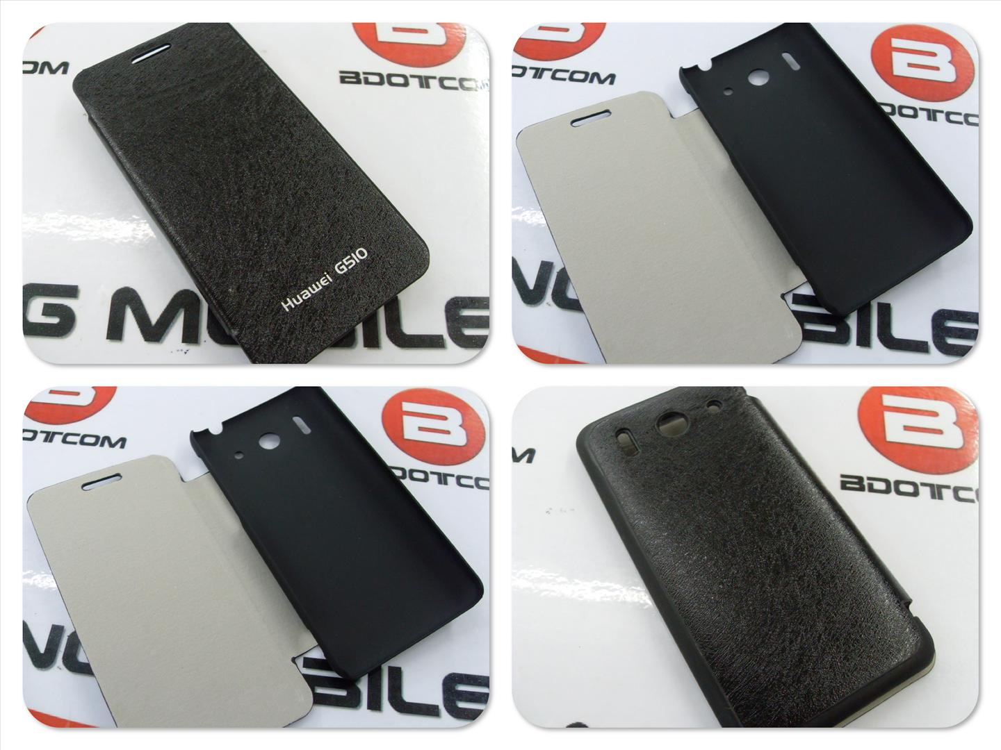 bdotcom = Huawei Ascend G510 leather case =