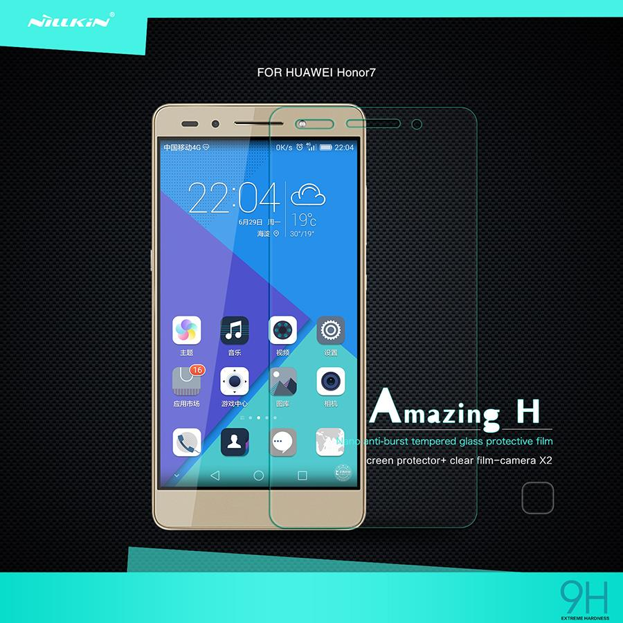 Bdotcom = HuaWei Honor 7 Nillkin Anti Explosion H Tempered Glass