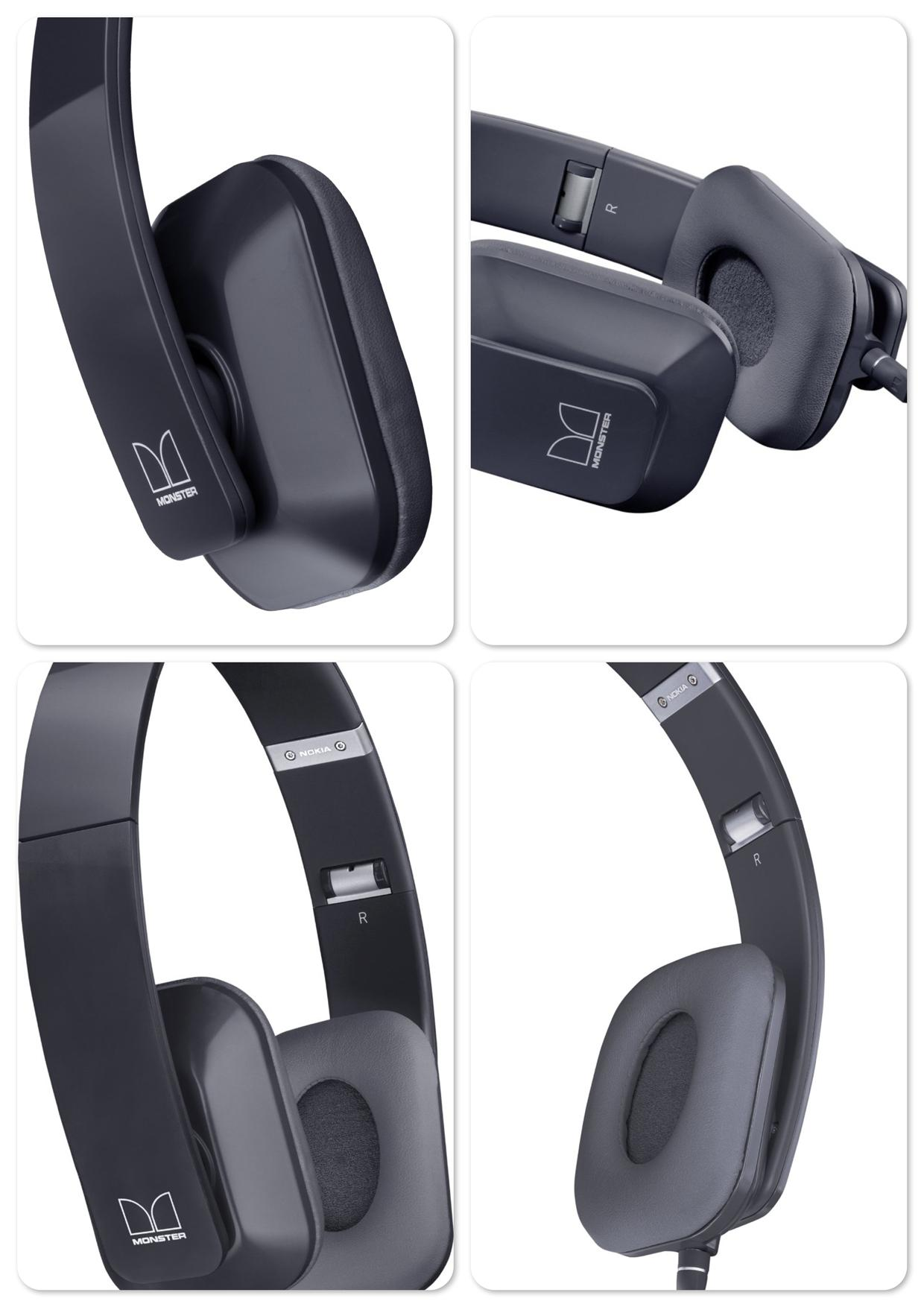 Bdotcom Nokia WH-930 Purity HD Wired On-Ear Stereo Headset by Monster