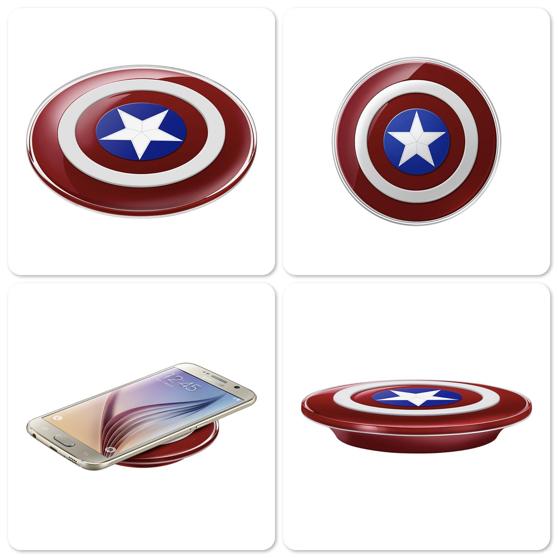 Bdotcom = Original Samsung Wireless Charger Avengers Edition