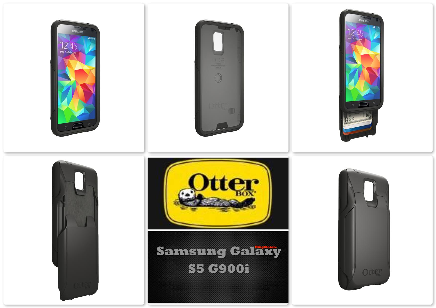 Bdotcom = Samsung Galaxy S5 Otterbox Commuter Wallet Series Black