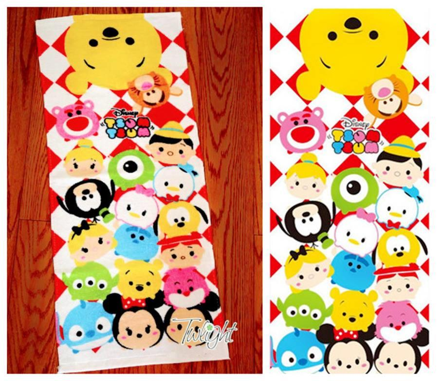 BE0113 DECORATIVE TSUM TSUM FACIAL TOWEL