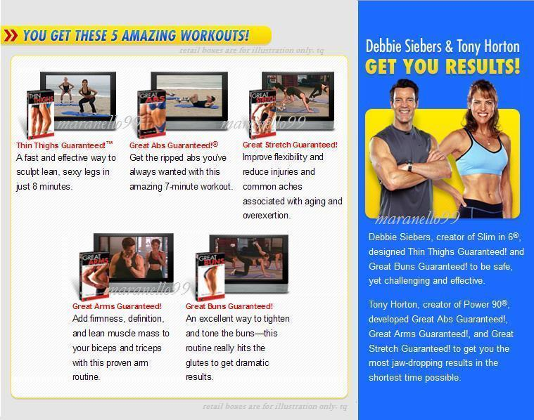 Beachbody Presents:GREAT BODY GUARANTEED! Tony Horton & Debbie Siebers