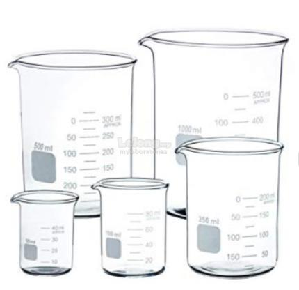 Beaker, Low form 250 ml (pack of 10) (S1-B1)