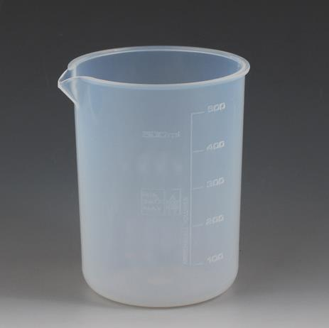 Beaker, Teflon, 25 ml, with spout, without graduation & cover
