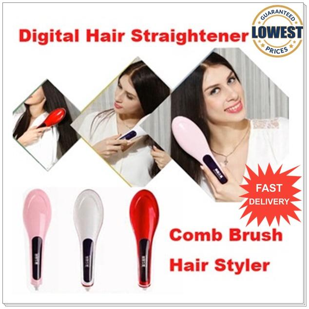 Beautiful   Beauty Star Electric Hair Straighten Straight Hair Comb. ‹ › 8783f084f51