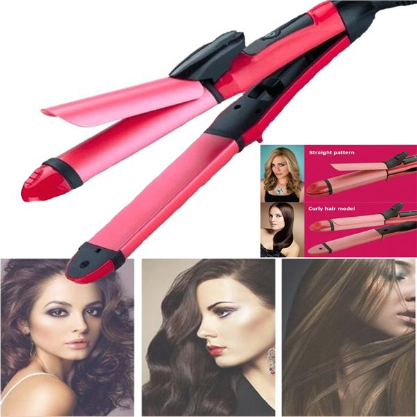 Beauty 2 in 1 Hair Beauty Set Straight / Curler 26mm