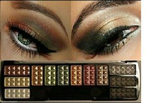 Beauty Treats Chrome Eyeshadow Palettes Shade 3