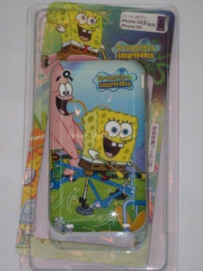 **BeautyMyth** Sponge Bob With Monster iPhone 3G/3GS Case