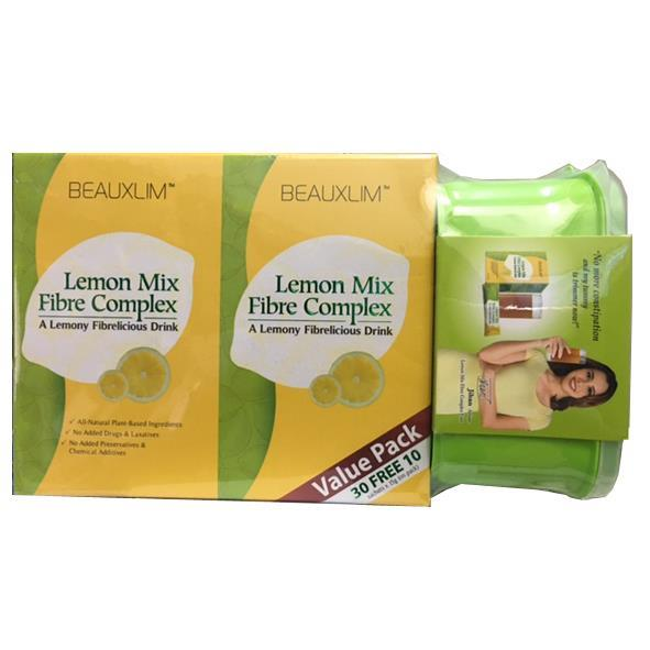 Beauxlim Lemon Mix Fibre Complex (2 x 15's + 10's)