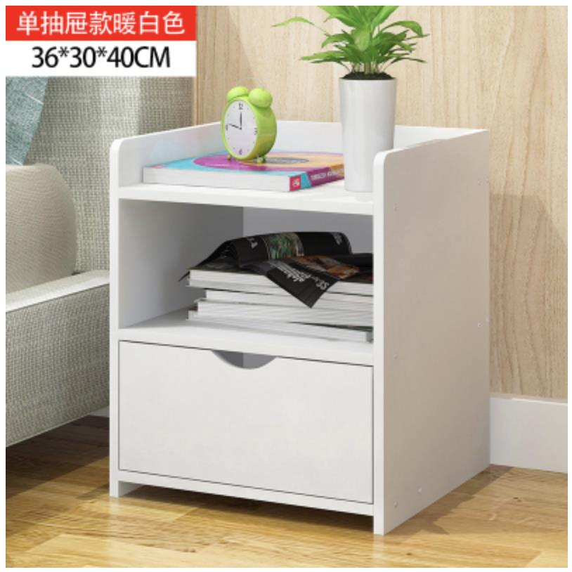 BED BEDROOM OFFICE SIDE SMALL TABLE CABINET RACK STORAGE