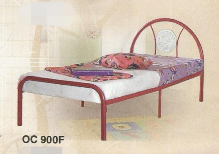Bed Series Single Size Metal Katil Besi Model Oc900f