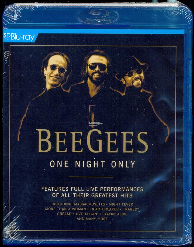 Bee Gees One Night Only - New Blu-Ray