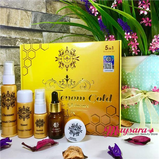 Bee Venom GOLD ~ Organic Skincare NEW ~ Set Exclusive 5-in-1