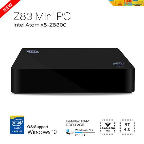 Beelink Z83 TV Box Atom X5-Z8300 DDR3 2GB Ram 32GB Rom Windows10