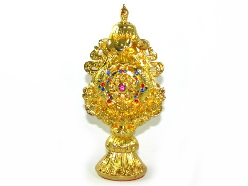 Bejeweled Golden Eight Auspicious Objects