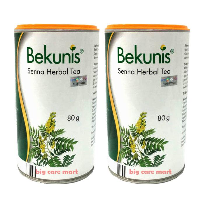 Bekunis Senna Herbal Tea 80g X 2 sets Laxative for Constipation Relief