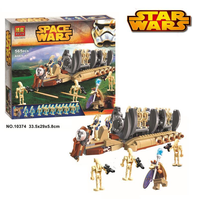 Bela 10374 Star Wars Battle Droid T (end 7/12/2017 10:15 AM)