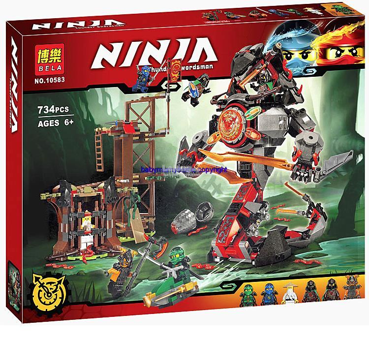 LEGO Bau- & Konstruktionsspielzeug Baukästen & Konstruktion LEGO 70626 Ninjago Dawn of Iron Doom