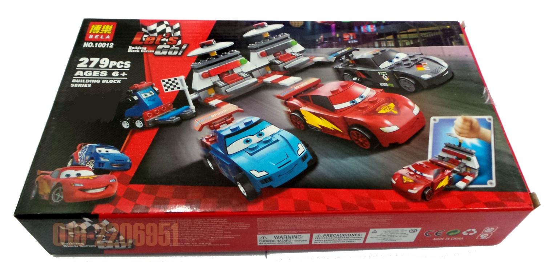 BELA Disney Car II-10012 Ultimate Race Set LEGO 9485 Brick. ‹ ›
