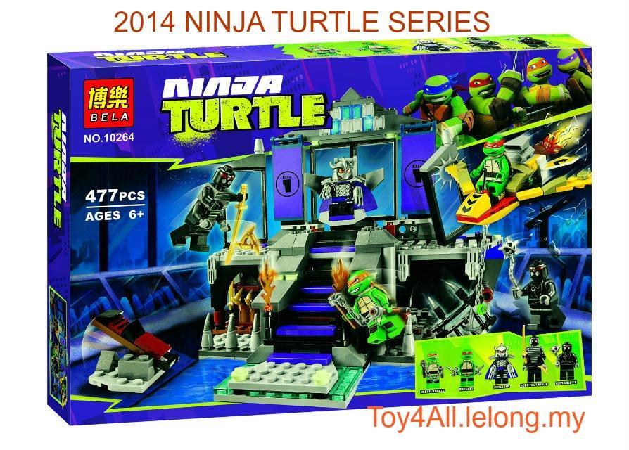 BELA Ninja Turtle 10264 Shredder's L (end 1/24/2019 5:18 PM)