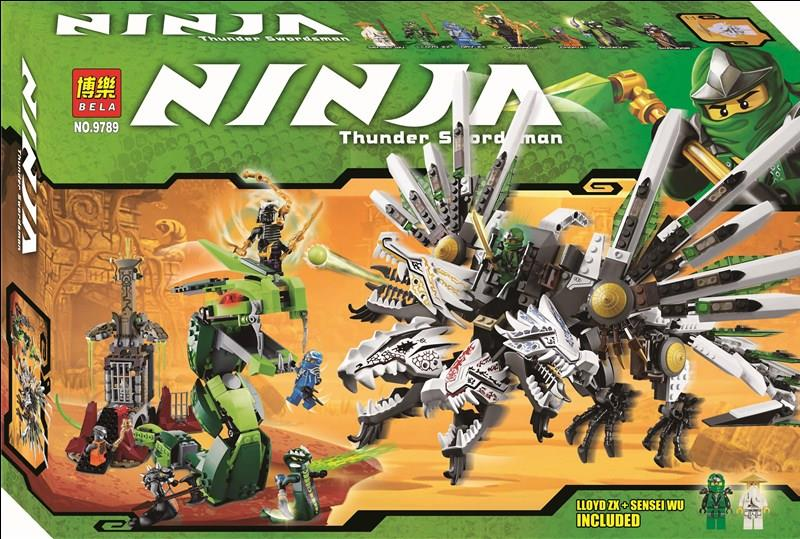 BELA Ninjago Epic Dragon 9789 LEGO 9450 Compatible Brick(FREE SHIPPING